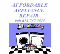 AFFORDABLE APPLIANCE REPAIR
