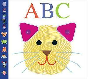 NEW Alphaprints ABC by Roger Priddy Children's Alphabet Book Free Express Post