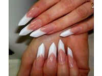 Manicure extensions acrylic