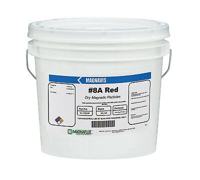 8a Red 10 Lb Non-fluoresent Particles 01178069 - 1 Each