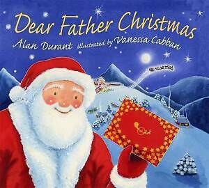 Dear Father Christmas by Alan Durant Brand New Paperback Book Kids Children XMAS