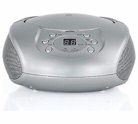 Cd radio boombox used once new