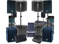 Sound Systems Hire | PA Speakers Hire | PA Systems Hire | Sounds Hire | Lightings | DJ Hire |