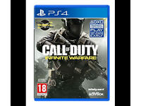 Call of Duty Infinite Warfare PS4 SEALED COPY UNOPENED