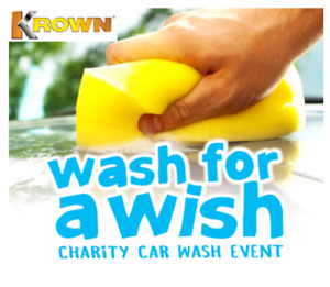 WASH FOR A WISH-Saturday June 22, 2019 9 am - 1 pm