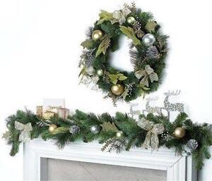 Christmas Wreath Christmas Decorations Ebay
