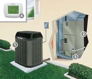 Heat Pump/ AC/ Furnaces/ Central and Wall Units/ Duct Works