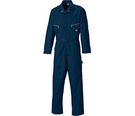 DICKIES Deluxe Coverall/ Boilersuit XX Large - Navy