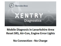 Mobile Mercedes Star Xentry Diagnostics: Car, Van, Truck, Bus