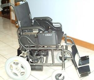 New  Adult Electric Folding Wheelchair