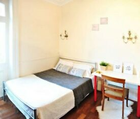 AVAILABLE NOW--- DOUBLE BED, NEW APARTMENT