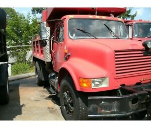 International dump truck for sale as is great price has to go