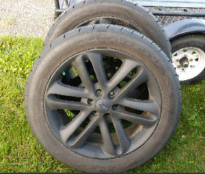 F150 Sport 22 inch Rims/Tires 6x139 305/45/22 Nitto A/S Tires