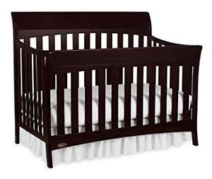 4 IN 1 CRIB AND MATTRESS (BOTH NEW)