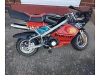 Mini moto 50cc with 70cc kit