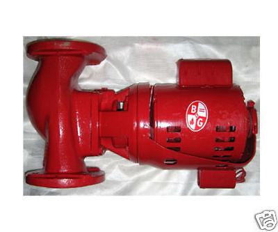 Bell Gossett Centrifugal Booster Pump Furnace Boiler
