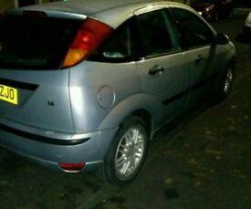 Ford focus car,1.6 petrol ,53 plate,5 door.