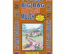 CLEARANCE! XL 70LT Cottage MULCH, Soil, Compost, Plants, Herbs Seaford Morphett Vale Area Preview
