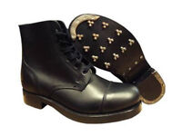 Mens Army Issue Black Boots Size 15!!!