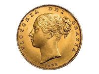 1838 Full Gold Sovereign