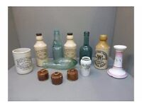 WANTED - Old Scottish pottery Ginger Beer bottles , pot lids and cream pots