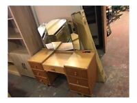 old 40s /50s mirrored dresser