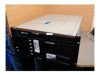 VIGLAN 5U Rackmount Server - 2x Intel Xeon 3.00Ghz - 12GB Ram
