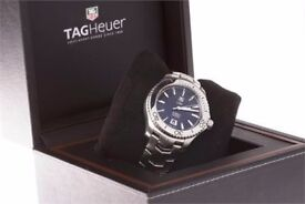 TAG Heuer Men's WJ201A. Link Caliber 5 Automatic Watch box papers and spare links like mint