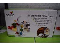 Senya Electric Multi Head Hand Held Set Mixer, Brand new with box