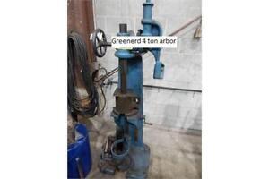 7 ton greenerd manual arbor press