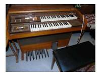 Viscount Fair Lady Organ & Stool
