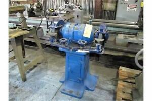 "Pedestal grinder, 3 hp 220 volt 3 ph. 12"" wheels"