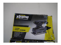 SHEET SANDER 200W USED TWICE.
