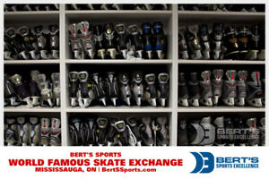 Bert's Famous Used Skates for Everyone