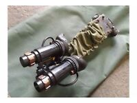 EXTREMELY RARE AND COLLECTABLE No.1 Mk.1 NIGHT VISION BINOCULARS. WITH CASE