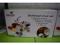 Senya Electric Multi Head Hand Held Set Mixer, Brand new with box