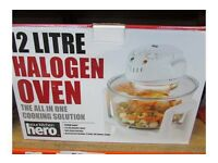 Your Kitchen 12 Litre White Halogen Oven With 5l Extender Ring