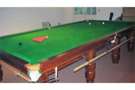 Used Full Size Slate Snooker Table for Sale