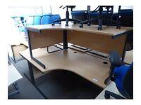 1600mm Curved Desk