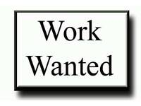 Part-Time Evenings Job Wanted