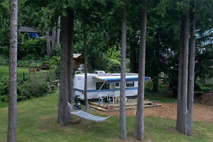 Feel the cool ocean breezes while camping in style!
