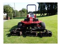 GT - 2006 TORO 6500-D REELMASTER FAIRWAY RIDE ON LAWN MOWER TURBO DIESEL 42 BHP