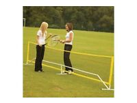 Tennis or Badminton Net Set Solid for real game time. BNIB.