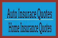 INSURE YOUR AUTO & HOME INSURANCE AND SAVE !!!