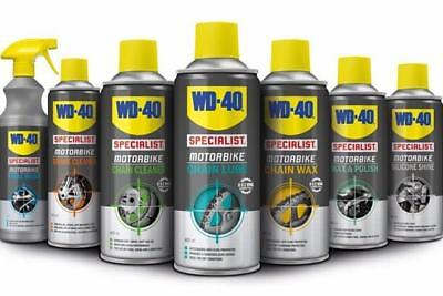 WD40 SPECIALIST CLEANING KIT 7 PIECE FOR MOTORCYCLE GIFT IDEA