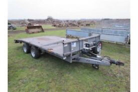 Wanted Ifor Williams beavertail trailer project flatbed recovery plant N Ireland