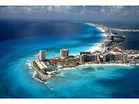 1 return flight ticket London - Cancún 02.OCT - 13.OCT