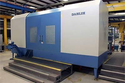 12' Dah-Lih HC2000, Fanuc 0iM, 4th Axis, 79x39x39, 90x38 Table, CAT 50, 120 ATC