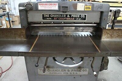 The Chandler Price 37 Paper Cutter - 110220