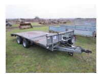WANTED Ifor Williams beavertail trailer flatbed repair project transporter recovery
